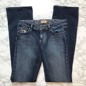 Paige Benedict Canyon Bootcut Jeans 29 X 34
